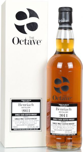 Benriach peated 6 Jahre 2011/2018 Duncan Taylor Sherry Octave Cask #7418724