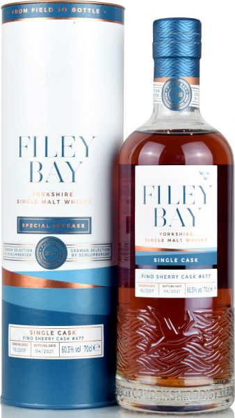 Filey Bay 2017/2021 Fino Sherry Single Cask 60,3% vol.