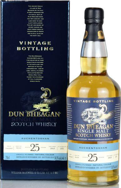 Auchentoshan 25 Jahre 1993/2019 Dun Bheagan 50,5% vol.