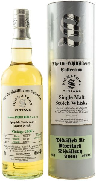 Mortlach 11 Jahre 2009/2021 SV Un-Chillfiltered Collection #317315+317319
