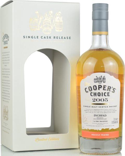 Inchfad 15 Jahre 2005/2021 Cooper's Choice 51,5% vol.