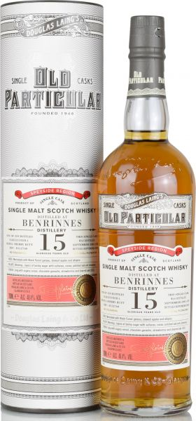 Benrinnes 15 Jahre 2003/2018 Sherry Butt Old Particular Douglas Laing 48,4% vol.