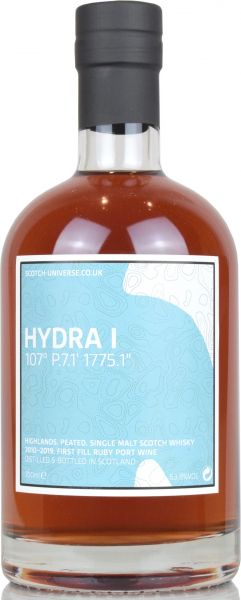 Hydra I 2010/2019 1st Fill Ruby Port Wine Scotch Universe 63,8% vol.