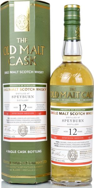 Speyburn 12 Jahre 2005/2018 Sherry Cask Hunter Laing Old Malt Cask 50% vol.