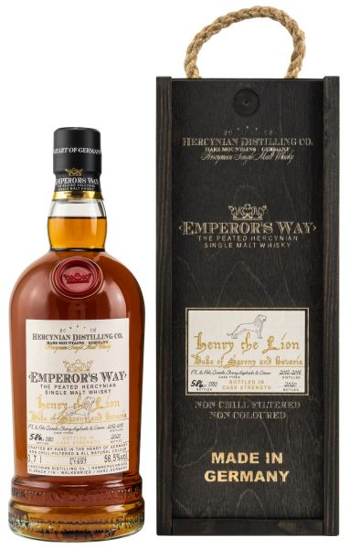 Emperor's Way Henry the Lion The Peated Hercynian PX & Palo Cortado Sherry 56,5% vol.
