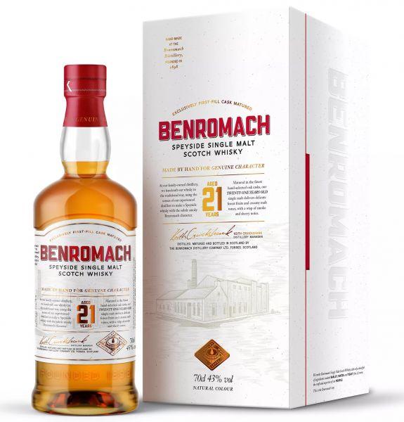 Benromach 21 Jahre 43% vol.
