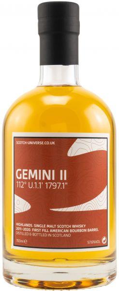 Gemini II 2011/2020 Scotch Universe 57,6% vol.