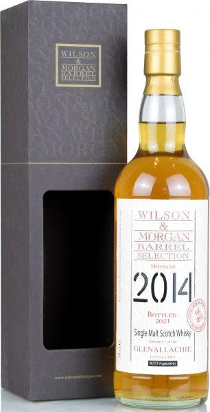 Glenallachie 2014/2021 1st Fill Sherry Cask Wilson & Morgan 46% vol.
