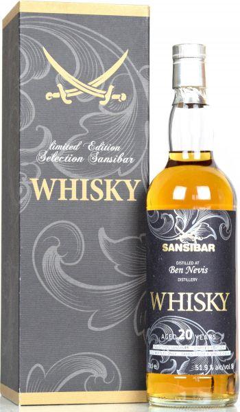 Ben Nevis 20 Jahre 1996/2016 Sansibar Whisky