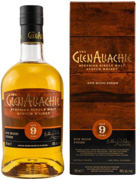 Glenallachie 9 Jahre Rye Wood Finish 48,0% vol.