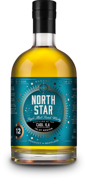 Caol Ila 12 Jahre 2006/2018 North Star Spirits #005 54,6% vol.