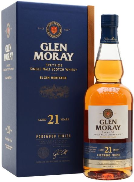 Glen Moray 21 Jahre Port Wood 46,3% vol.