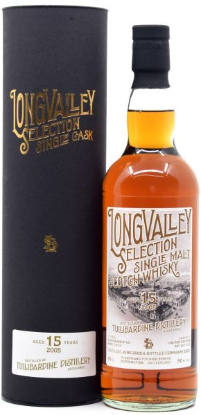 Tullibardine 15 Jahre 2005/2021 1st Fill Chateauneuf du Pape LongValley Selection 50% vol.