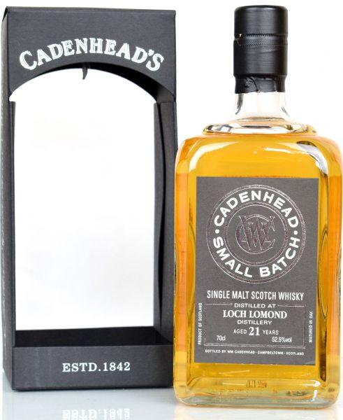 Loch Lomond 21 Jahre 1997/2018 Cadenhead 52,5% vol.