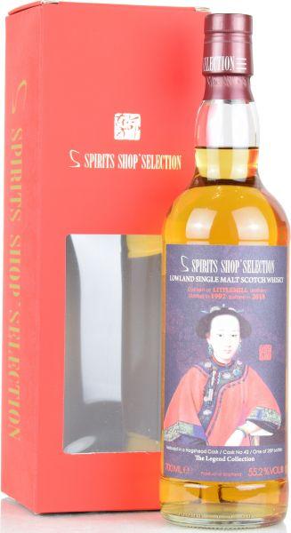 Littlemill 25 Jahre 1992/2018 S-Spirits Shop Selection #42 55,2% vol.