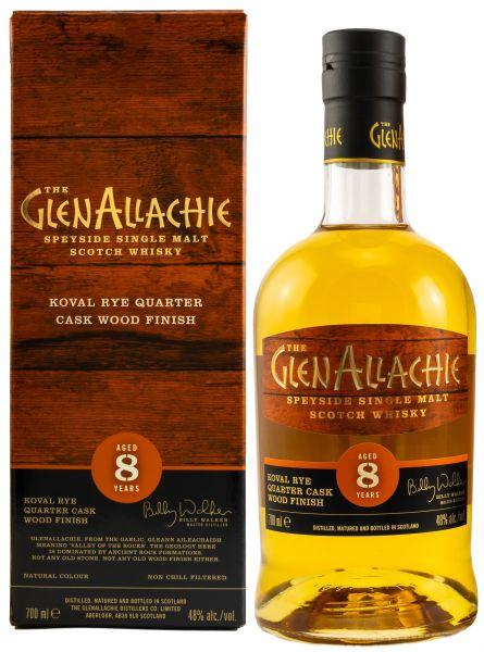 Glenallachie 8 Jahre Koval Rye Finish 48,0% vol.
