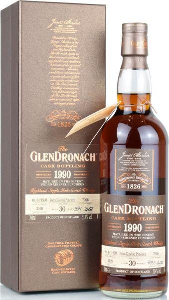 Glendronach 30 Jahre 1990/2020 Batch 18 Single Cask #7006 51,4% vol.