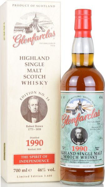 Glenfarclas 1990/2020 Edition No. 24 Robert Brown