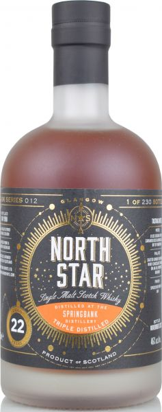 Springbank (Hazelburn) 22 Jahre 1998/2020 North Star Spirits #012 46% vol.