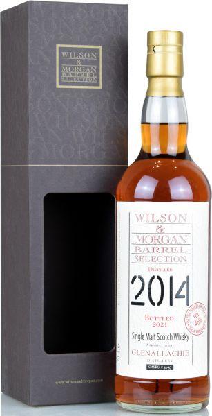 Glenallachie 2014/2021 1st Fill Madeira Cask Wilson & Morgan 46% vol.