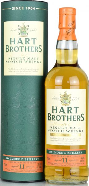 Dalmore 11 Jahre 2007/2018 1st Fill Port Pipe Hart Brothers 55,1% vol.