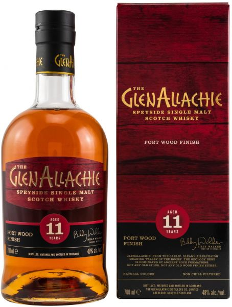 Glenallachie 11 Jahre Port Wood Finish 48,0% vol.