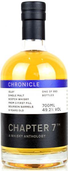 Islay Single Malt 2011/2020 Chapter 7 CHRONICLE #1 49,2% vol.