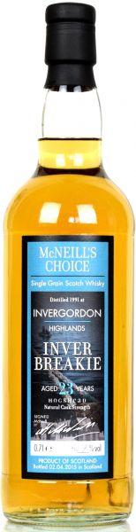Invergordon 23 Jahre 1991/2015 McNeill's Choice