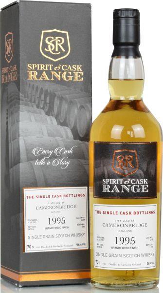 Cameronbridge 1995/2018 Brandy Finish Spirit & Cask Range 56,0%