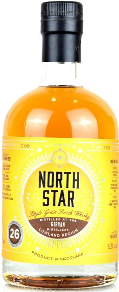 Girvan 26 Jahre 1993/2019 North Star Spirits #008 53,5% vol.