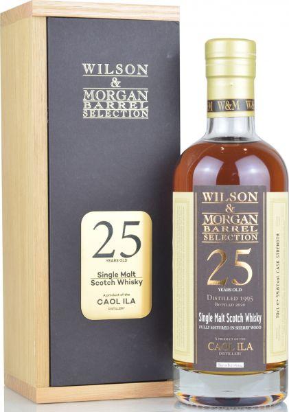 Caol Ila 25 Jahre 1995/2020 Sherry Cask Wilson & Morgan 59,8% vol.