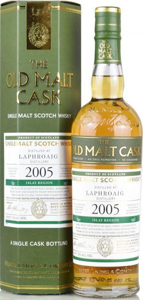 Laphroaig 15 Jahre 2005/2021 Sherry Cask Hunter Laing Old Malt Cask 50% vol.