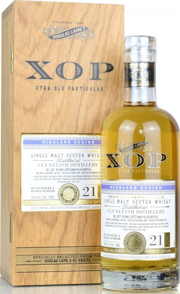 Clynelish 21 Jahre 1995/2017 Xtra Old Particular Douglas Laing 54,6 % vol.