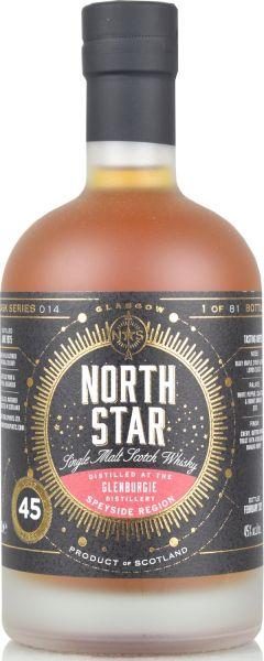 Glenburgie 45 Jahre 1975/2021 North Star Spirits #014 45% vol.