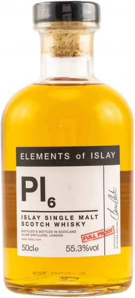 Port Charlotte Pl6 2011/2019 Elements of Islay 55,3% vol.