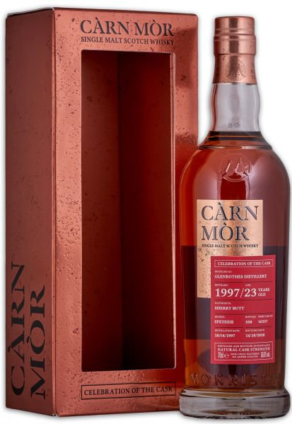Glenrothes 23 Jahre 1997/2020 Sherry Cask Carn Mor Celebration of the Cask 58% vol.