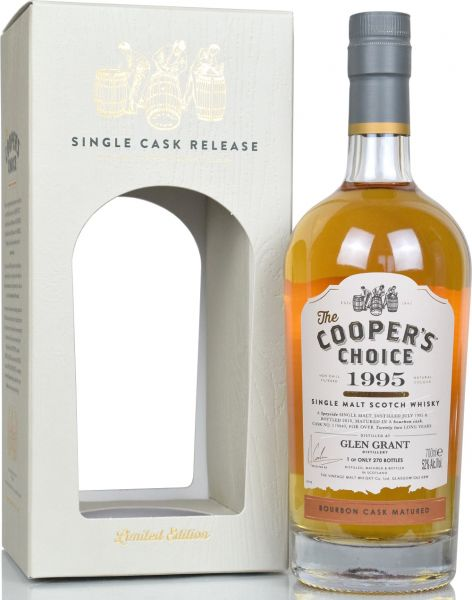 Glen Grant 22 Jahre 1995/2018 Cooper's Choice #119440 52,0% vol.
