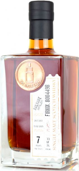 Dailuaine 7 Jahre 2011/2018 2nd Fill Octave The Single Cask 59,2% vol.