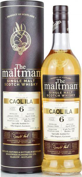 Caol Ila 6 Jahre 2014/2019 The Maltman 56,2% vol.