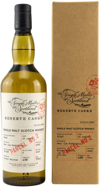 Caol Ila 10 Jahre 2009/2020 The Single Malts of Scotland Reserve Casks 48%