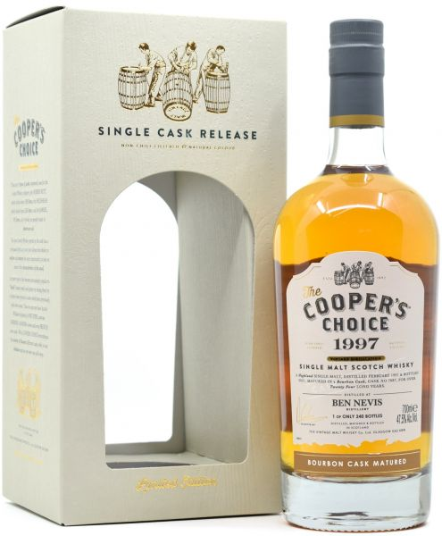 Ben Nevis 24 Jahre 1997/2021 Cooper's Choice 47,5% vol.