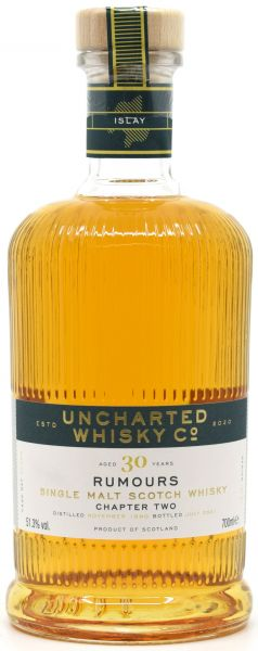 Secret Islay 30 Jahre 1990/2021 Rumours Chapter II Uncharted Whisky 51,3% vol.