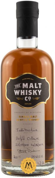 Tullibardine 2010/2019 Sherry Octave The Malt Whisky Company 58,4% vol.
