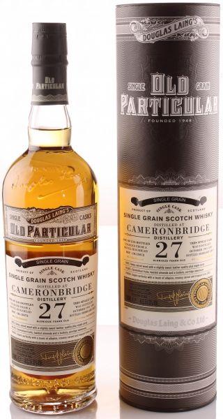 Cameronbridge 27 Jahre 1991/2019 Old Particular Douglas Laing 51,5% vol.