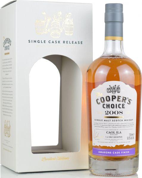 Caol Ila 12 Jahre 2008/2020 Amarone Cask Cooper's Choice 54,5% vol.