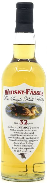 Tormore 32 Jahre 1988/2021 Whisky-Fässle 44,1% vol.