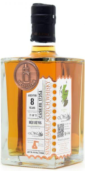 Ben Nevis 8 Jahre 2012/2021 1st Fill Oloroso Sherry The Single Cask for deinwhisky.de 58,4% vol.