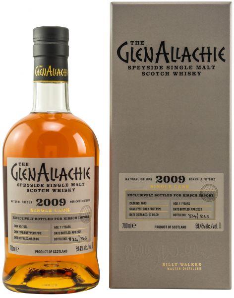 Glenallachie 11 Jahre 2009/2021 Ruby Port Single Cask #7673 59,4% vol.