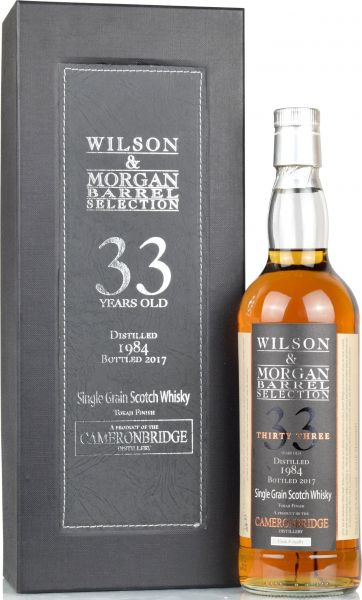 Cameronbridge 33 Jahre 1984/2017 Tokaji Finish Wilson & Morgan 55,8% vol.