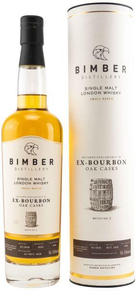 Bimber Ex-Bourbon Oak Casks Small Batch No. 2/2020 52,2% vol.